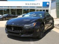 This outstanding example of a 2018 Maserati Ghibli is