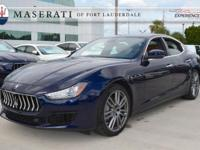 2018 Maserati Ghibli Maserati of Fort Lauderdale is