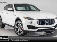 This Maserati includes: RED PAINTED BRAKE CALIPERS