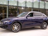 Blue 2018 Maserati Levante S AWD ZF 8-Speed Automatic
