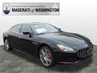 This 2018 Maserati Quattroporte S Q4 is proudly offered