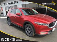 Red Crystal 2018 Mazda CX-5 Grand Touring AWD 6-Speed