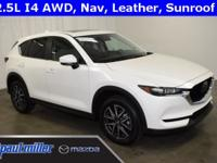2018 Mazda CX-5, Touring edition, dressed in Snowflake