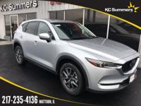 Sonic Silver Metallic 2018 Mazda CX-5 Grand Touring FWD
