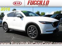 This outstanding example of a 2018 Mazda CX-5 Grand