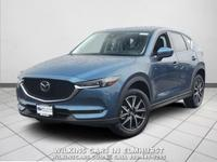 Certified. 2018 Mazda CX-5 Eternal Blue Mica Grand