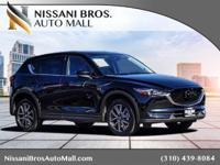 CARFAX One-Owner. Clean CARFAX. Black 2018 Mazda CX-5