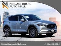 CARFAX One-Owner. Clean CARFAX. Silver 2018 Mazda CX-5