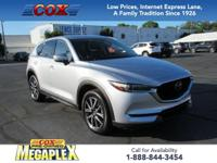 Certified. This 2018 Mazda CX-5 Grand Touring in Sonic