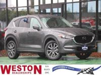 CARFAX One-Owner. 2018 Mazda CX-5 Touring Gray One
