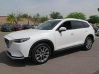 Options:  2018 Mazda Cx-9 Grand Touring|White|Carfax
