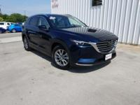 CARFAX One-Owner. Clean CARFAX. Blue 2018 Mazda CX-9
