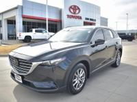 Recent Arrival! Clean CARFAX. Jet Black 2018 Mazda CX-9