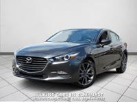 Certified. 2018 Mazda Mazda3 Machine Gray Metallic
