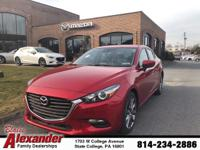 Recent Arrival!  **MAZDA CERTIFIED**, **ONE OWNER**,