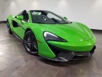 This 2018 McLaren 570S Base is featured in Mantis Green