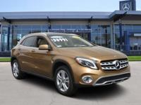 GLA 250 trim. CARFAX 1-Owner, Mercedes-Benz Certified,