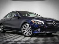 2018 Mercedes-Benz CLA. This particular CLA 250 CLA is