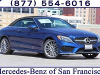 Brilliant Blue 2018 Mercedes-Benz C-Class C 300 RWD