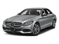 Check out this gently-used 2018 Mercedes-Benz C-Class