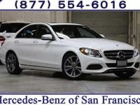 Clean CARFAX. Certified. Our elegant 2018 Mercedes-Benz