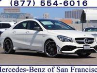 Cirrus White 2018 Mercedes-Benz CLA CLA45