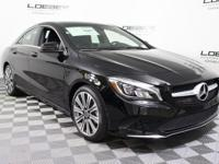 WELL EQUIPPED MB CERTIFIED 2018 CLA250 AWD. PREMIUM 1,