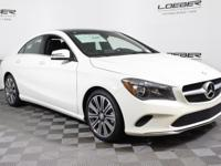 MB CERTIFIED WITH LOW MILES. 2018 CLA250W4. LEASE OR