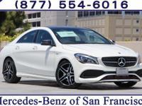 Cirrus White 2018 Mercedes-Benz CLA CLA250 FWD 7 Speed
