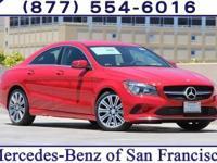 Jupiter Red 2018 Mercedes-Benz CLA CLA250 FWD 7 Speed
