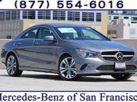 Grey 2018 Mercedes-Benz CLA CLA250 FWD 7 Speed Dual
