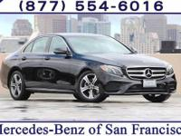 Black 2018 Mercedes-Benz E-Class E 300 RWD 9-Speed
