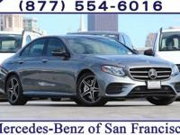 Grey 2018 Mercedes-Benz E-Class E 300 RWD 9-Speed