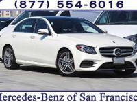 Diamond White 2018 Mercedes-Benz E-Class E 300 RWD