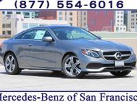 Gray Metallic 2018 Mercedes-Benz E-Class E 400 Twin