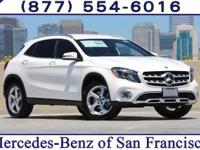Polar White 2018 Mercedes-Benz GLA GLA 250 Intercooled