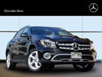 This outstanding example of a 2018 Mercedes-Benz GLA