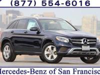 Blue 2018 Mercedes-Benz GLC GLC 300 4MATIC®