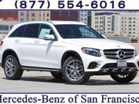 White 2018 Mercedes-Benz GLC 300 4MATIC®