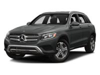 Check out this gently-used 2018 Mercedes-Benz GLC we