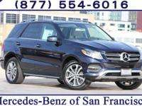 Blue 2018 Mercedes-Benz GLE GLE 350 4MATIC®