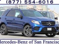Blue Metallic 2018 Mercedes-Benz GLE GLE 350
