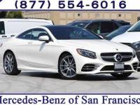 Diamond White 2018 Mercedes-Benz S-Class S 560
