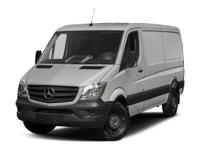 This Mercedes-Benz Sprinter Cargo Van delivers a