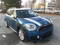 2018 MINI Cooper S Countryman ALL4 in Island Blue