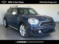 This 2018 MINI Cooper S Countryman 4dr features a 2.0L