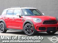 John Cooper Works trim, Chili Red exterior and MINI