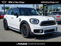 This 2018 MINI Cooper S E Countryman ALL4 Hybrid . It