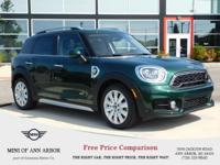 Cooper S E trim, British Racing Green metallic exterior