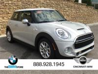 2018 MINI Cooper S S White Silver Metallic 2.0L 16V
